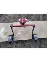Зчіпка зчеплення універсальна з опорними колесами