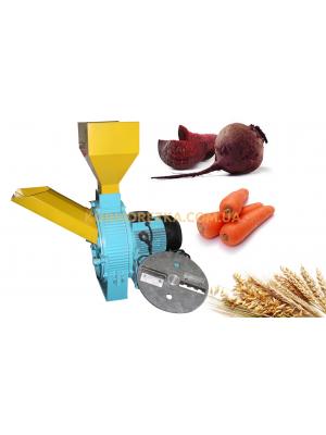 Подрібнювач кормів ИКОР-1 для зерна і коренеплодів