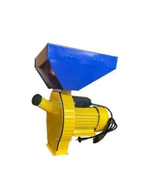 Зернодробарка кормоподрібнювач електрична Donny DYAA 3.8 кВт 280 кг/год для пшениці, ячменю, кукурудзи