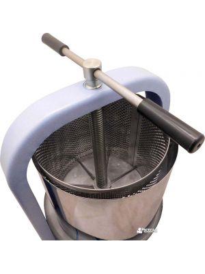 Прес гвинтовий ЛАН для вичавлення соку з яблук, винограду, овочів (25 літрів) + мішок для соку